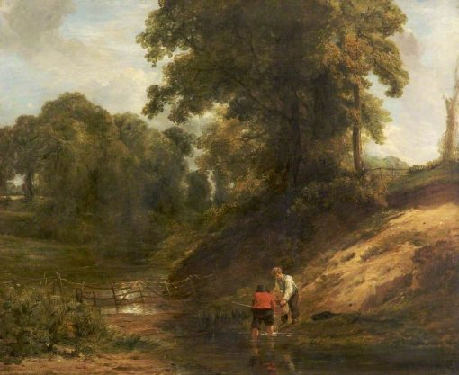 Boys Fishing | William Collins | Oil Painting