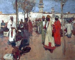 The Slave Market | Sir Frank William Brangwyn | Oil Painting