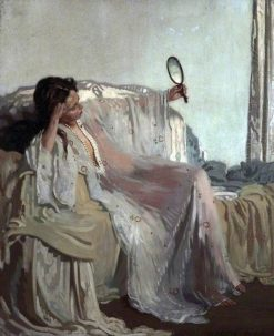 An Eastern Gown | Sir William Orpen | Oil Painting