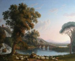 Imaginary River Landscape | Jakob Philipp Hackert | Oil Painting