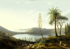 The Lake of Avernus | Jakob Philipp Hackert | Oil Painting