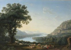Imaginary Landscape with the River Volturno | Jakob Philipp Hackert | Oil Painting