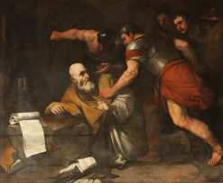 The Death of Archimedes | Luca Giordano | Oil Painting
