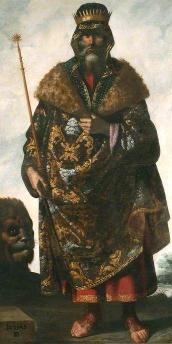 Judah IIII   Francisco de Zurbaran   Oil Painting