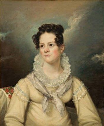 Mrs. Sarah Maria Giraud (Portrait of Sarah Maria Goodrich Giraud) | John Wesley Jarvis | Oil Painting