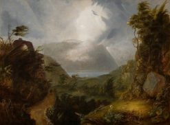 Storm King of the Hudson | Thomas Cole | Oil Painting
