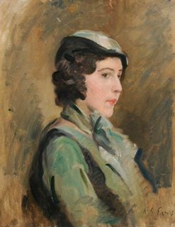 Portrait of a Lady | Reginald Grenville Eves | Oil Painting