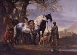 Huntsmen Halted | Aelbert Cuyp | Oil Painting