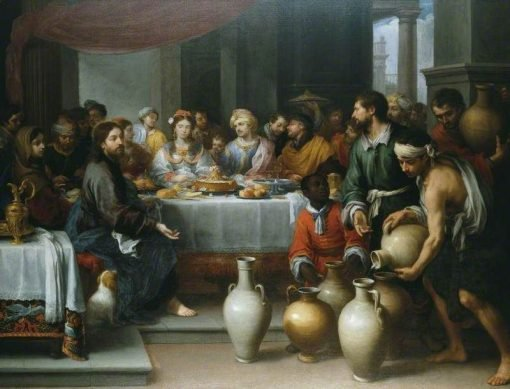 The Marriage Feast at Cana | BartolomE Esteban Murillo | Oil Painting
