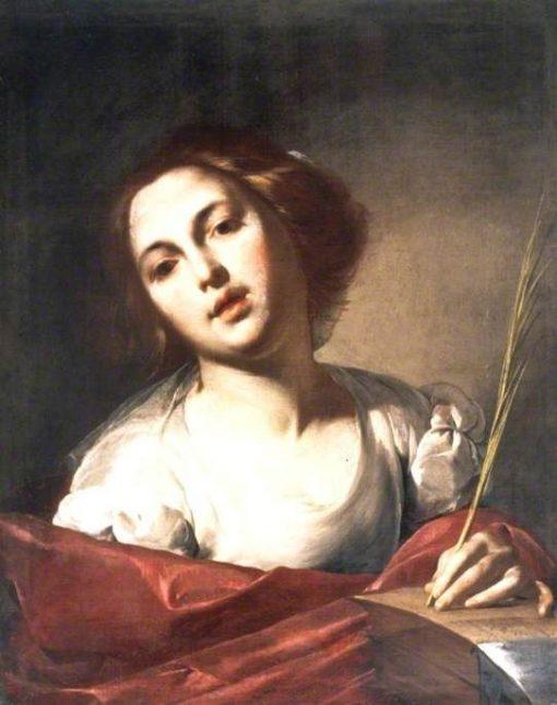 Saint Catherine of Alexandria | Bernardo Cavallino | Oil Painting
