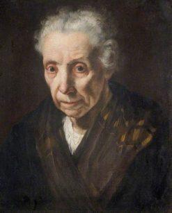 Head of an Old Woman | Bernardo Strozzi | Oil Painting