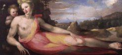 Reclining Nymph | Domenico Beccafumi | Oil Painting