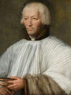 Portrait of an Ecclesiastic   Dutch School th Century   Unknown   Oil Painting