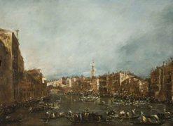 A Regatta on the Grand Canal