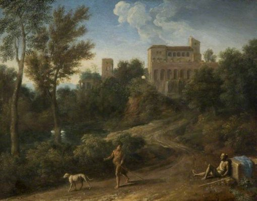 Classical Landscape with Figures | Gaspard Dughet | Oil Painting