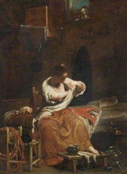 The Flea | Giuseppe Maria Crespi | Oil Painting