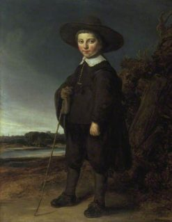 Portrait of a Boy | Govaert Flinck | Oil Painting