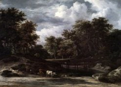 Woodland Landscape | Jacob van Ruisdael | Oil Painting
