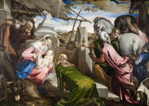 The Adoration of the Magi | Jacopo Bassano | Oil Painting