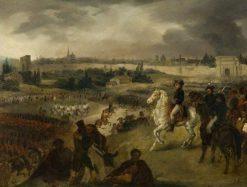 The Entry of Bonaparte into Milan | Joseph Louis Hippolyte BellangE | Oil Painting