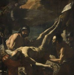 The Martyrdom of Saint Peter | Mattia Preti | Oil Painting