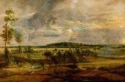 A Landscape in Flanders | Peter Paul Rubens | Oil Painting