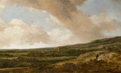 Landscape with a Huntsman | Pieter de Molijn | Oil Painting