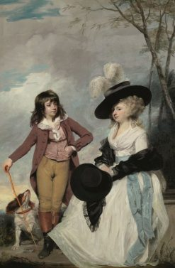 Maria Marow Gideon and her Brother