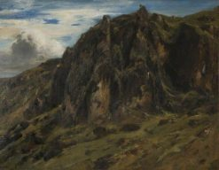 Landscape in the Auvergne | ThEodore Rousseau | Oil Painting