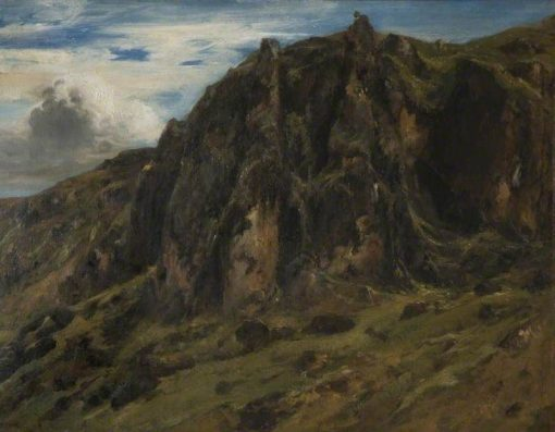 Landscape in the Auvergne   ThEodore Rousseau   Oil Painting