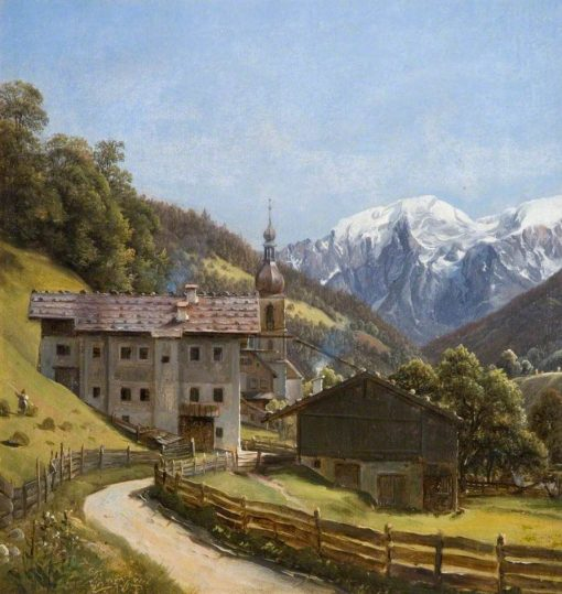 Ramsau | Thomas Fearnley | Oil Painting