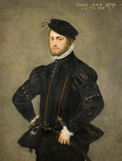 Portrait of a Young Man | Tintoretto | Oil Painting