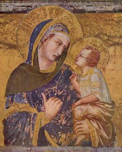 Madonna and Child(also known as 'Madonna dei Tramonti') | Pietro Lorenzetti | Oil Painting