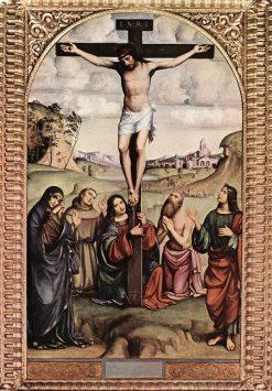 Crucifixion | Francesco Francia | Oil Painting