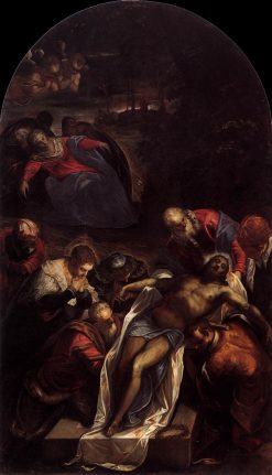 The Entombment | Tintoretto | Oil Painting