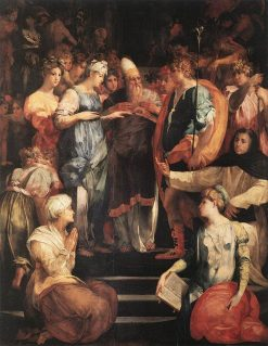Marriage of the Virgin | Rosso Fiorentino | Oil Painting
