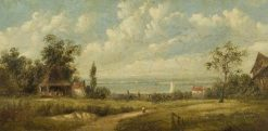 Southchurch | Alfred Vickers | Oil Painting