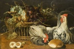 Still Life with Cocks | Frans Snyders | Oil Painting