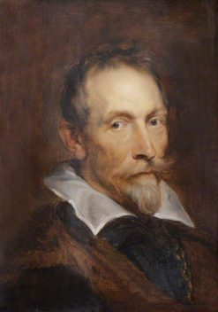 Johannes Woverius (1576-1636) | Anthony van Dyck | Oil Painting