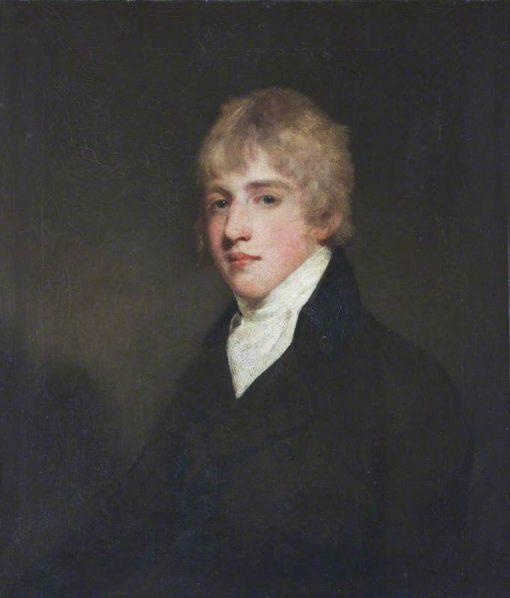 The Honourable Reverend Henry Cockayne Cust   John Hoppner   Oil Painting