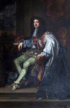 Charles II in Garter Robes | Peter Lely | Oil Painting