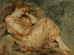 Reclining Woman | Solomon Joseph Solomon | Oil Painting
