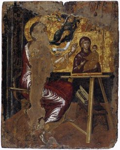 Saint Luke Painting the Virgin and Child | El Greco | Oil Painting