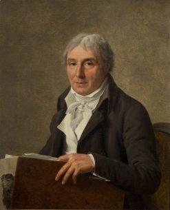 Portrait of Simon Charles Miger | Marie Gabrielle Capet | Oil Painting