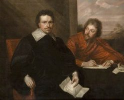 Lord Stafford and His Secretary Sir Philip Mainwearing | Anthony van Dyck | Oil Painting