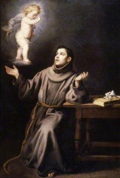 The Vision of Saint Anthony | BartolomE Esteban Murillo | Oil Painting