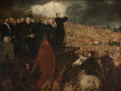 The Meeting of the Birmingham Political Union | Benjamin Robert Haydon | Oil Painting