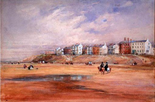 Blackpool Beach | David Cox | Oil Painting