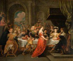 The Feast of Herod | David Teniers II | Oil Painting