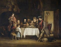 Grace before Meat | David Wilkie | Oil Painting
